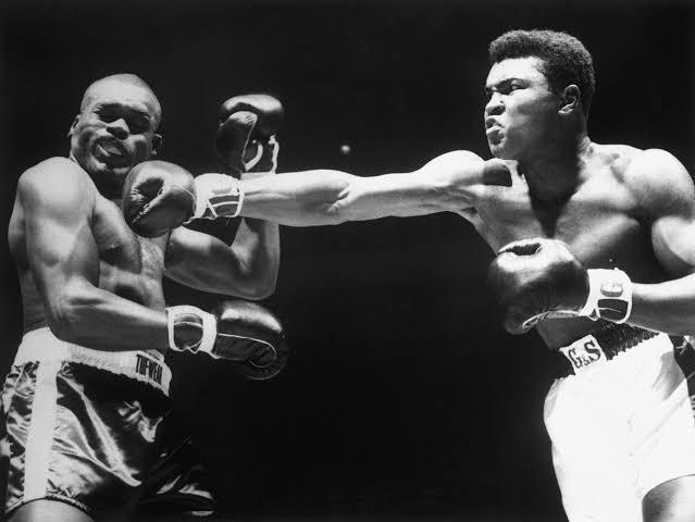The most iconic Muhammad Ali . #OneNightInMiami