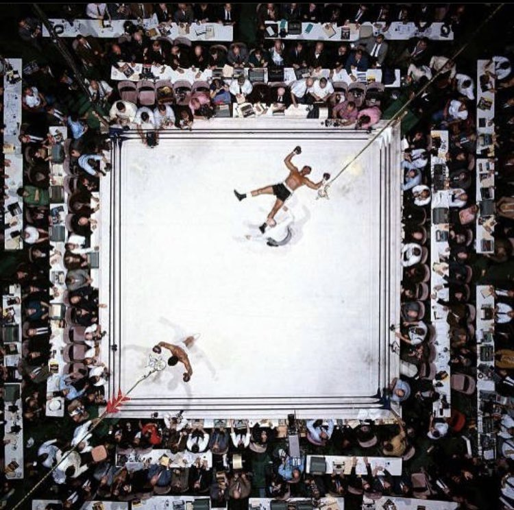 Regina recreated one of Neil Leifler's memorable photos of Ali. Other than the underwater shot, he's taken some of your favorite pics of the greatest. #OneNightInMiami