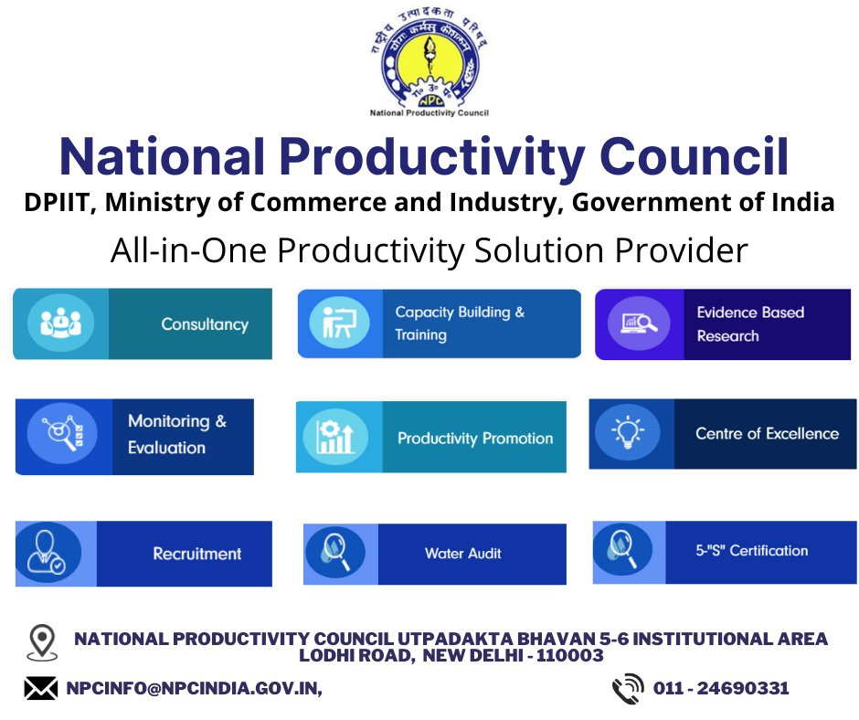Knowledge is the treasure of a wise man. Enhance it by Joining @NPC_INDIA_GOV webinars, e-certificate learning programmes, 99webtalks and many more. Please Join #India's #Biggest #Productivity #Network. Visit  #epass #npcertificate #Bharat4.0 #kyp