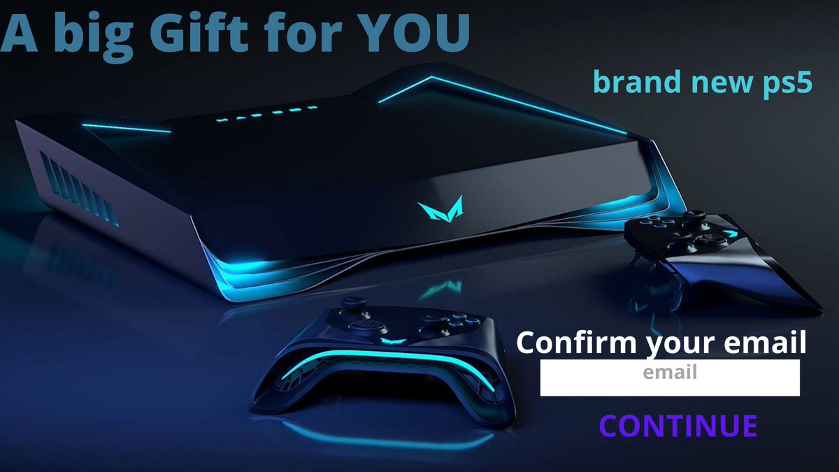 Brand New PS5 is just for YOU. Click here  and put your email. #OneNightInMiami #dustin #20january #OneNightInMiami #PS5 #gifts