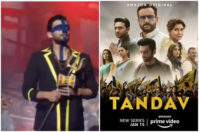 Is freedom of expression being used to disrespect Hinduism and deities ?  Lord Shiva has been insulted in the web series 'Tandav' on 'Amazon Prime'  Zeeshan Ayub is seen in the role of Lord Shiva.This time he is abusive. #BanTandavNow #BoycottTandav