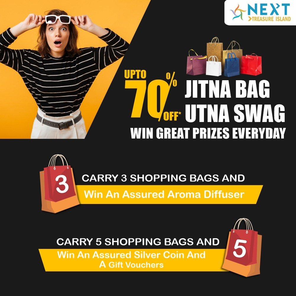 Your chance to earn the most amazing rewards from your shopping is here!! Shop from your most loved brands at #TINextMall and you stand a chance to win exciting prizes!!  #Rewards #Offers #FestiveSeason #FestivalRewards #GiftVouchers #Happy2021 #NewYear #MallsInIndore