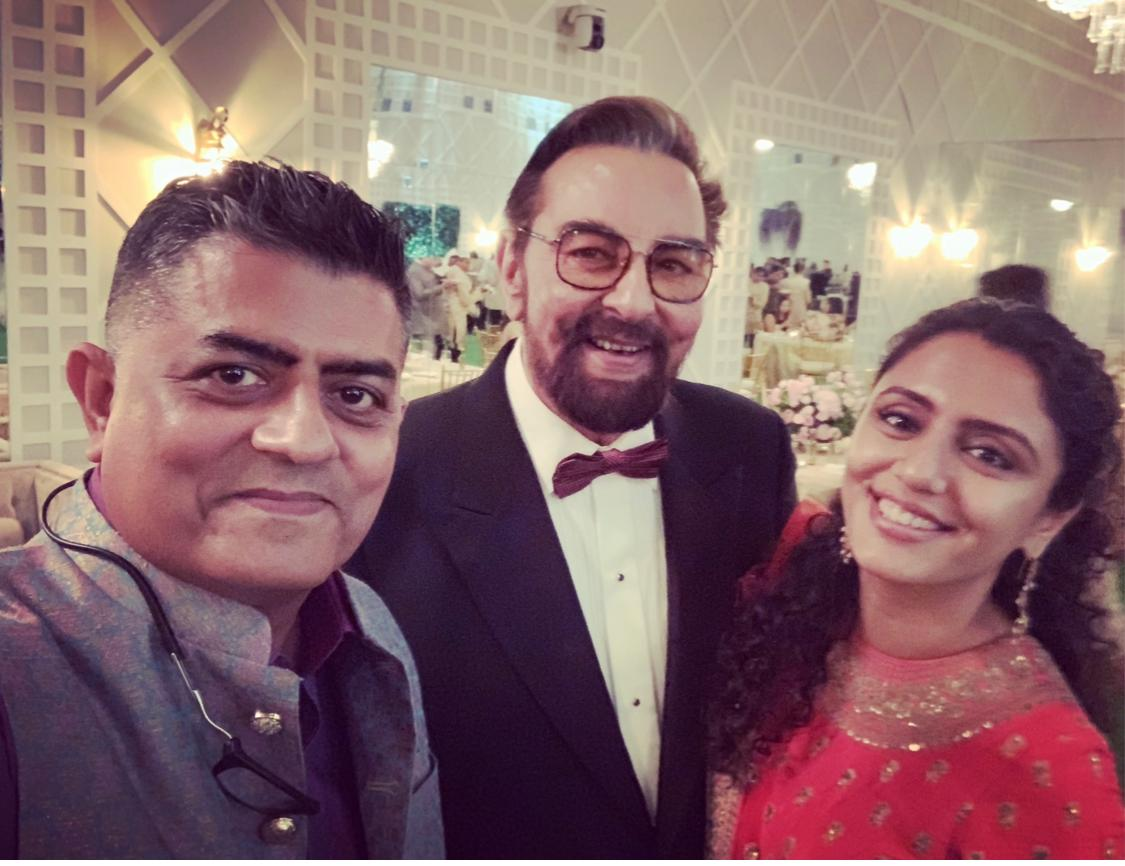 Wishing a happy 75th birthday to my Sandokan hero and a truly fine gentleman, @iKabirBedi! Had the pleasure of meeting him and his charming wife, @parveendusanj two years ago. Hope to see you back on the screen soon in your regal style!