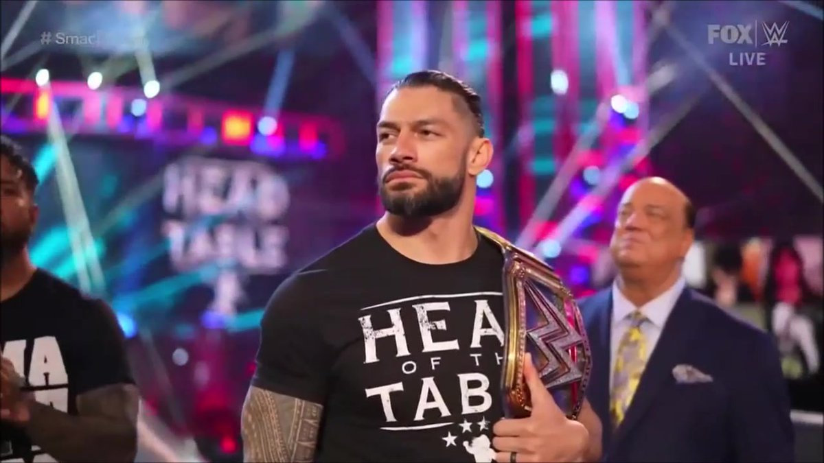 Smackdown Screencaps of #RomanReigns 💪😊 have been added to our Gallery #romanreigns #wwe #SmackDown #TribalChief See them all here -->