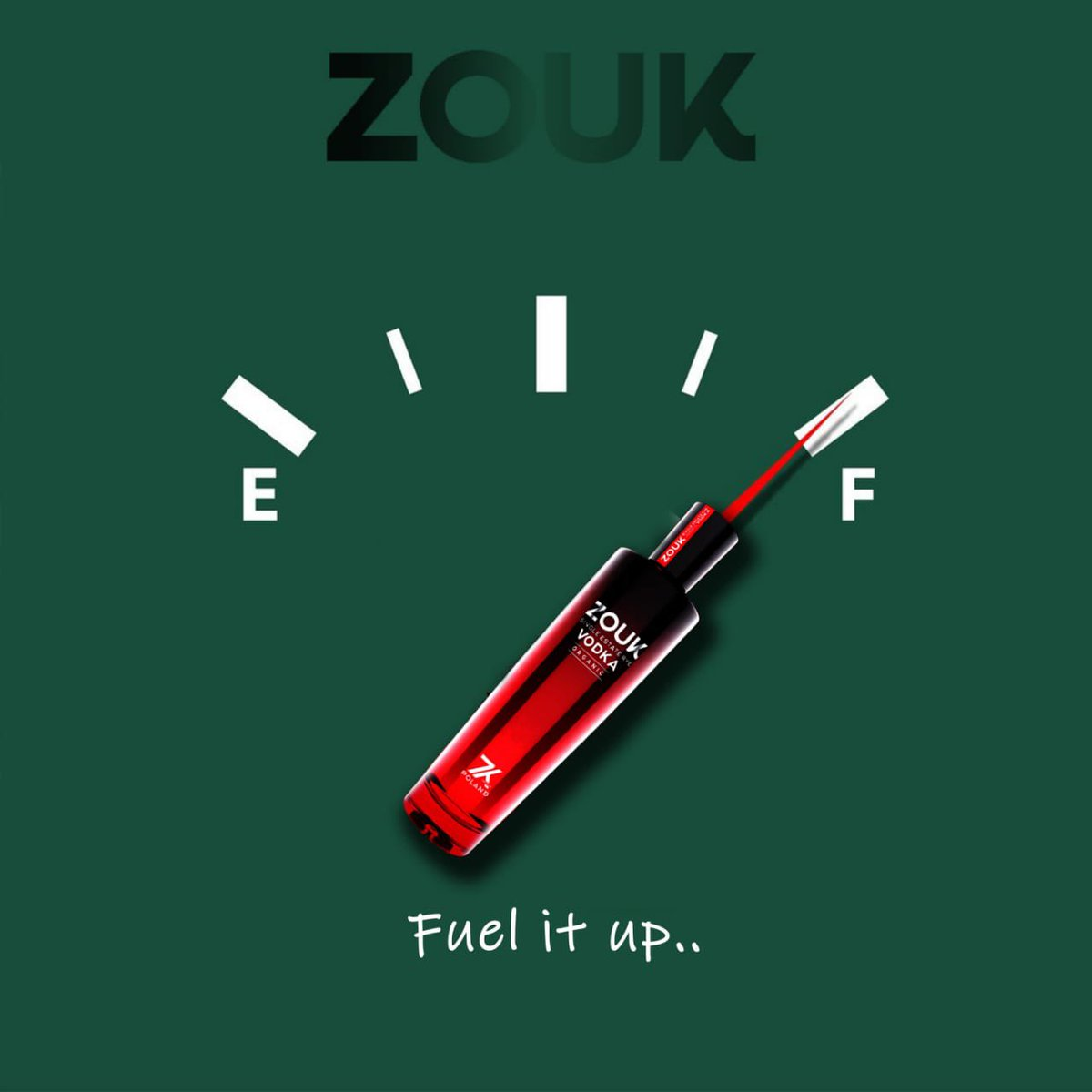 Fuel it up    Because it's Saturday Night 😎  #zoukvodka #vodka #saturdayvibes #saturdayevening #vodka🍸