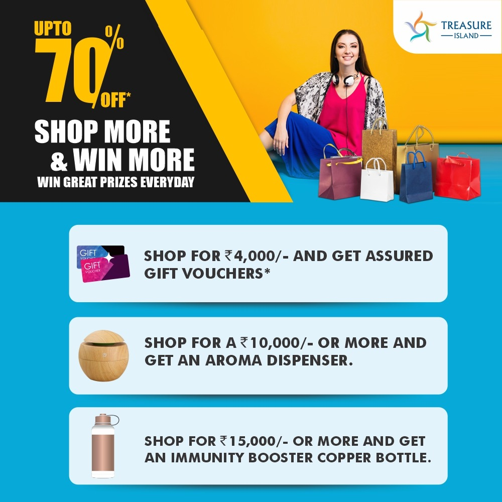 Your chance to earn the most amazing rewards from your shopping is here!! Shop from your most loved brands at #TIMall and you stand a chance to win exciting prizes!!  #Rewards #Offers #FestiveSeason #FestivalRewards #MallsInIndore #OffersInIndore #IndianMalls #NexusMalls #Indore
