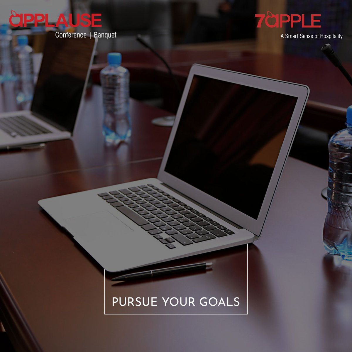 Meeting spaces equipped with all the necessary amenities for your business needs.  #7Applehotels #Meetings #Meetingrooms #Business