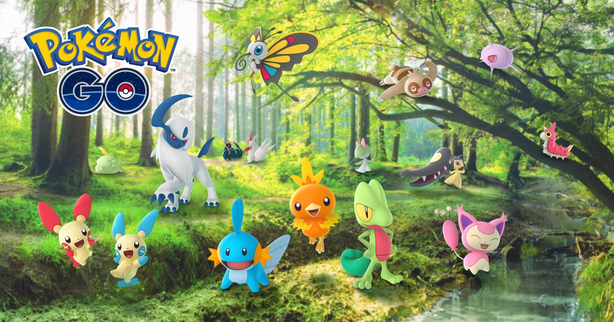 Serebii Update: The Pokémon GO Hoenn Celebration event has started to roll out in Europe & Africa. Runs from 10:00 local time to 20:00 local time on January 24th.  Details @