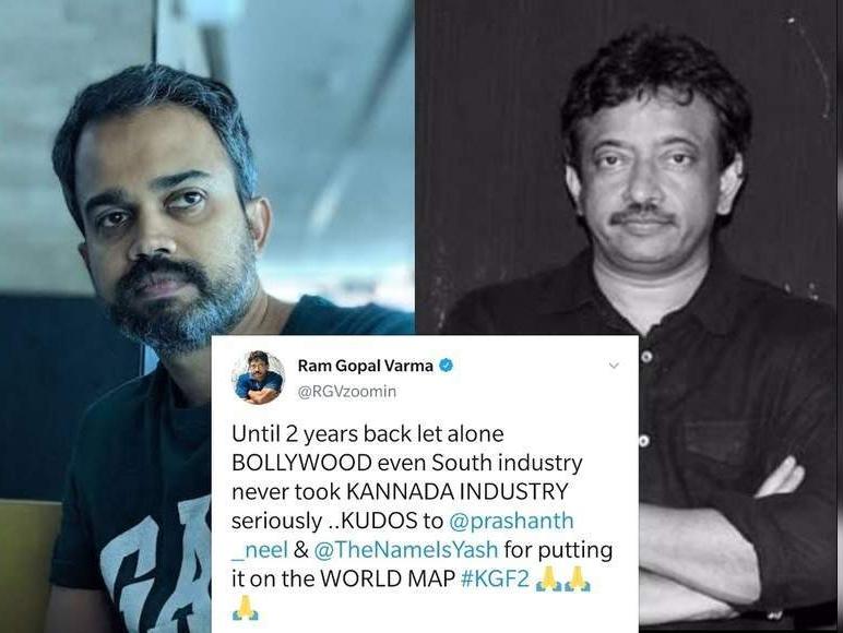 Ram Gopal Varma praises Prashanth Neel for his work; Says 'kudos' for putting Kannada industry on 'world map' #kgfchapter1 #prashantneel #KGF2Teaser #ramgopalvarma #kannadafilmindustry #KannadaNews #kannadadaily #kannada #salaar #prabhas #Yash #DarlingPrabhas #Rockingstar #Kudos