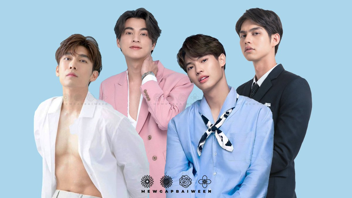 giving you soft yet sexy sky blue  credit to Gulf and Bright's photo:  @Gulfkanawutofc @Allbrightvc (second reupload) #GulfKanawut #MewSuppasit #winmetawin #bbrightvc  -  i hope this fanedit will bring happiness to you at least with all the hate, let us give ourselves positivity!