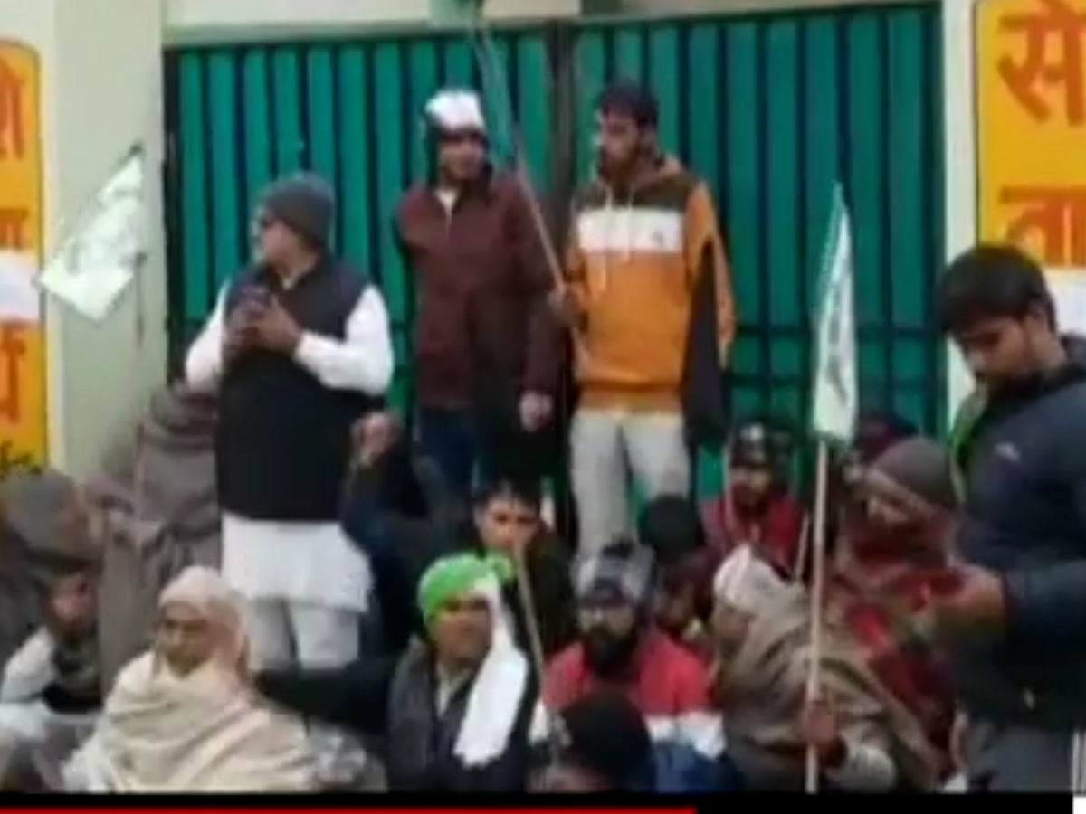 Haryana: Agitating farmers try to disrupt COVID-19 vaccination drive Track #Covid19 latest updates here