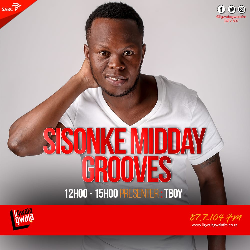 The only midday show that matters on a Saturday its #SMG you are invited.