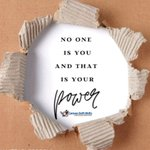 Image for the Tweet beginning: No One Is You and