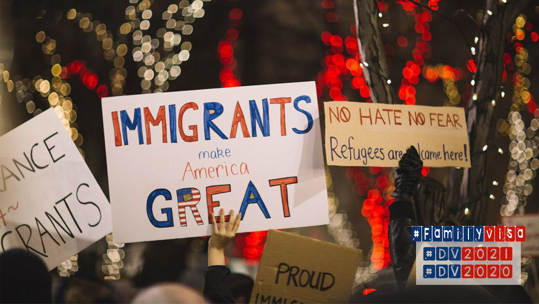 Immigrants make America 🇺🇸 Great  #DV2021  #DV2020 #NoBan  #FamilyVisa #Pelicans #LakeShow #WandaVision