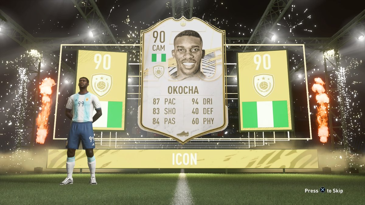 Done 1st African Prime Icon secured. No coins spent. Africa XI is back #FIFA21 #PS4share