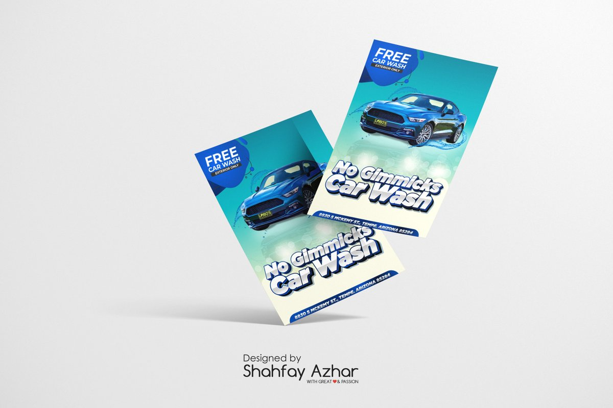 Recently done flyer design for a Car Wash in Arizona.  Inbox me to get yours!  #graphicdesign #design #flyerdesign #needadesigner #needadesign #Lookingforadesigner #Reno5AvailableNow #SaturdayMorning #StolenValor #satchat #WOLWBA #SaturdayMotivation