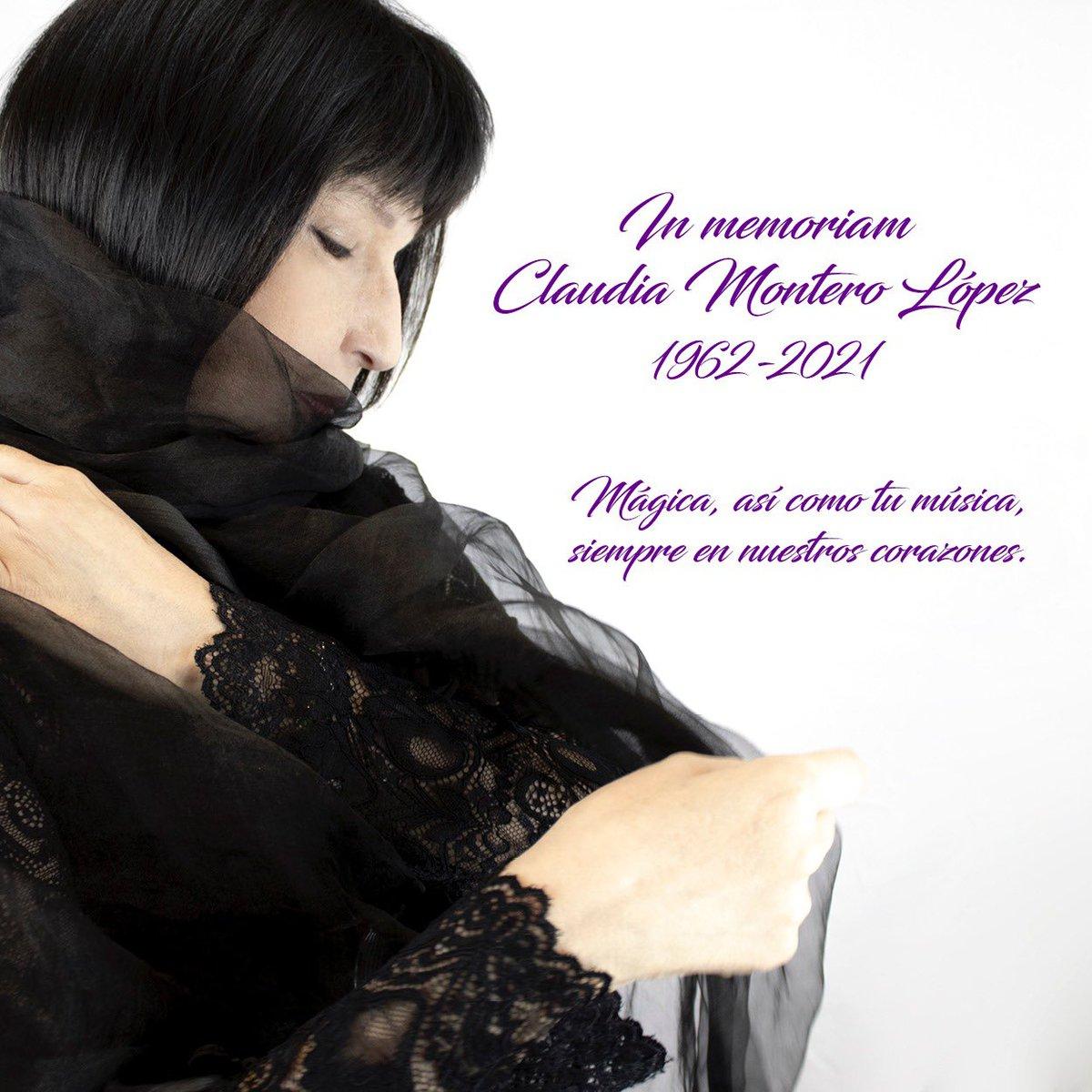 Con mucha tristeza os comunicamos el fallecimiento de nuestra querida Claudia Montero. Su recuerdo, su música y su magia quedarán para siempre en nuestros corazones y en nuestra memoria.