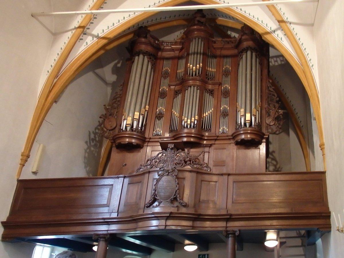 test Twitter Media - Magnuskerk Bellingwedde interieur met orgel en organist ,Groningen ®® https://t.co/b8vXS74Oxm