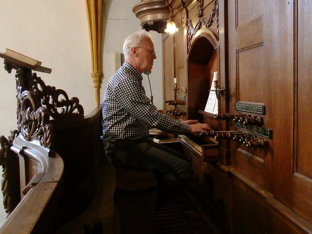 test Twitter Media - Magnuskerk Bellingwedde interieur met orgel en organist ,Groningen ®® https://t.co/hDkBtQuyiL
