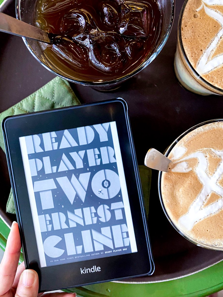 Ready Player Two follows the (winning) formula of the first book, Ready Player One, to a tee! Lacking in originality, this sequel feels like a quick work to milk the franchise that was made successful by its predecessor.  Full review here: https://t.co/qE5NtsyylN https://t.co/PEr53QArUI