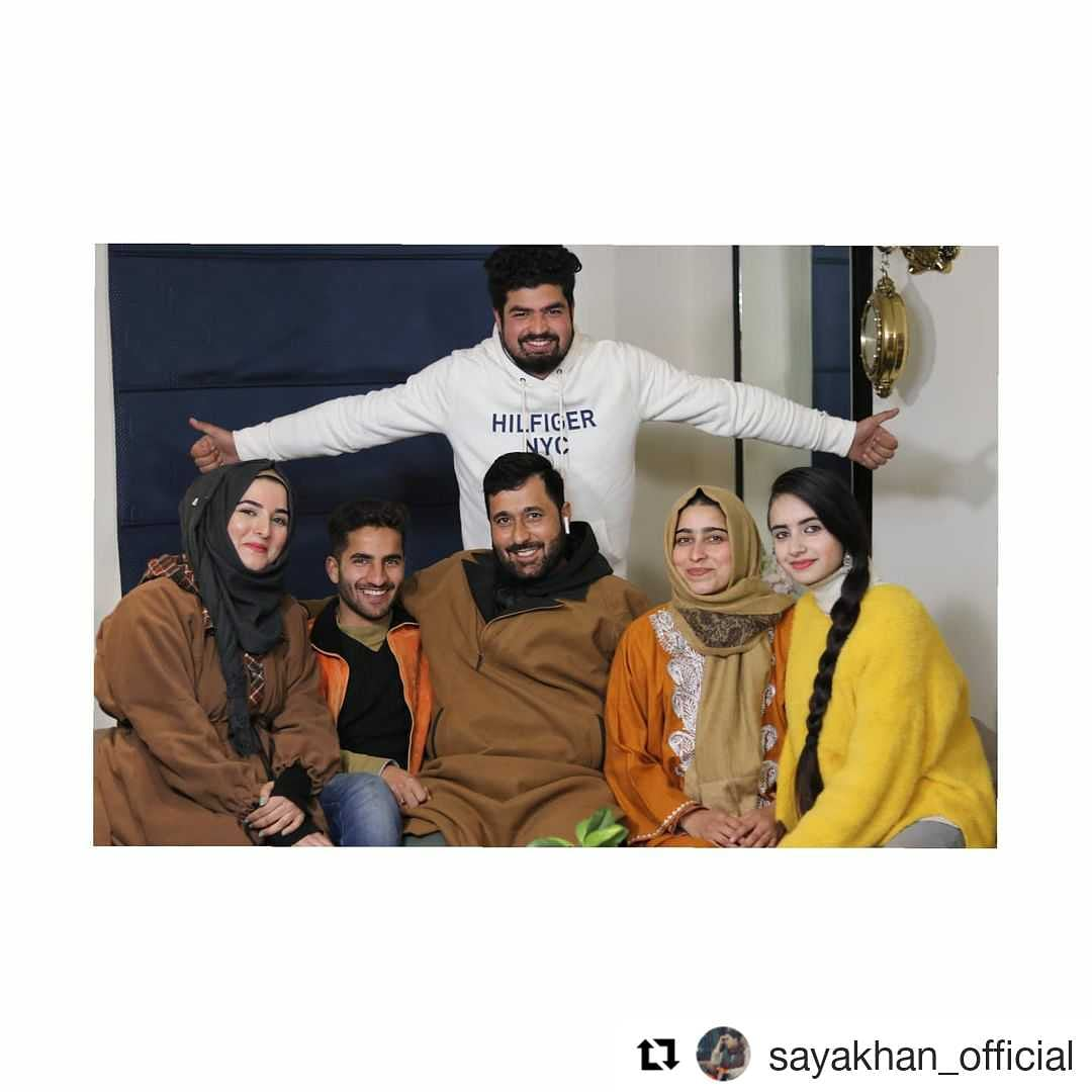 #Repost @sayakhan_official (@get_repost)On the Set of Aadam's Apple  SO WHO IS WAITING FOR SEASON 2 comment down below COMING SOON Thank you @aadams_apple team for giving me such a good opportunity and thank you @SATRajaAadam for inviting me on you're sets.!
