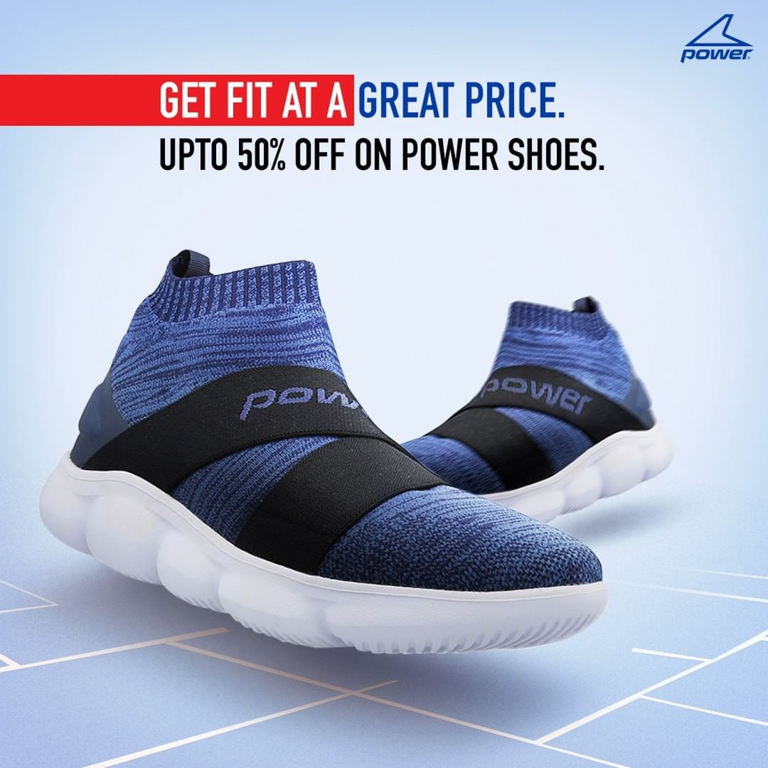Stay active at an unbelievable price. Our End of Season Sale is here! Find the perfect Power fitness pair for you at upto 50% off from  or any of our retail stores today! #BataEndOfSeasonSale #EndOfSeasonSale #Eoss #LatestStyles #ShopNow