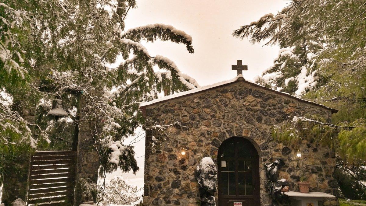 Το πρώτο χιόνι του 2021  #Άγιος_Θωμάς #χιόνι2021 #Λιατανιώτισα #Δήμος_Τανάγρας #Βοιωτία https://t.co/OUklhTEqj4