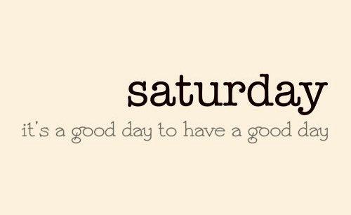 #SaturdayVibes #Saturday