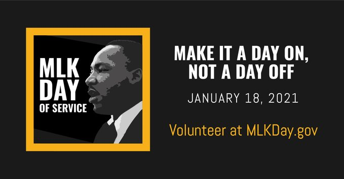 Still looking for ways to serve your community on #MLKDay? This @AmeriCorps search tool can help you find local volunteer opportunities this weekend: