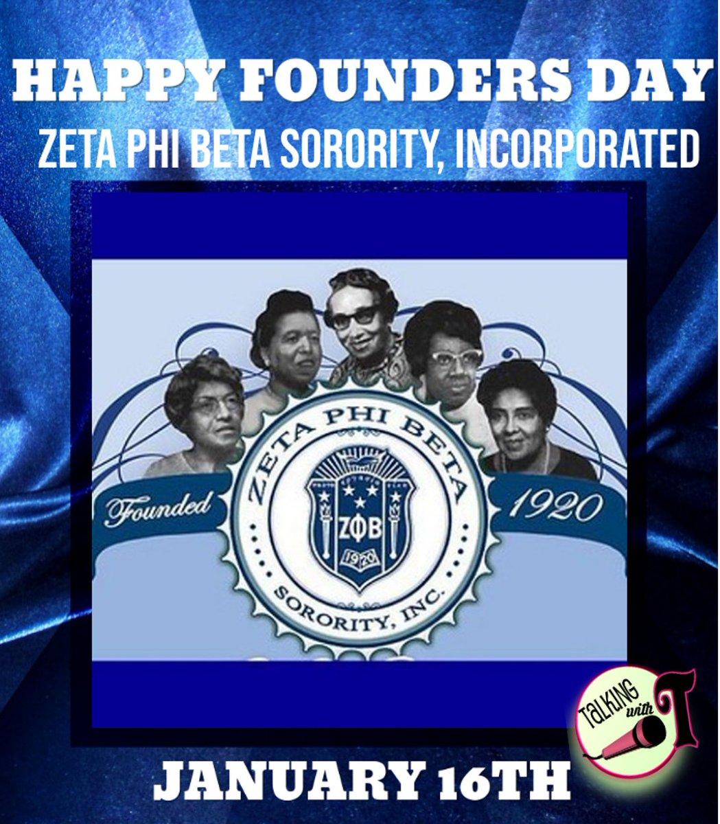 Happy Founders Day to the ladies of Zeta Phi Beta