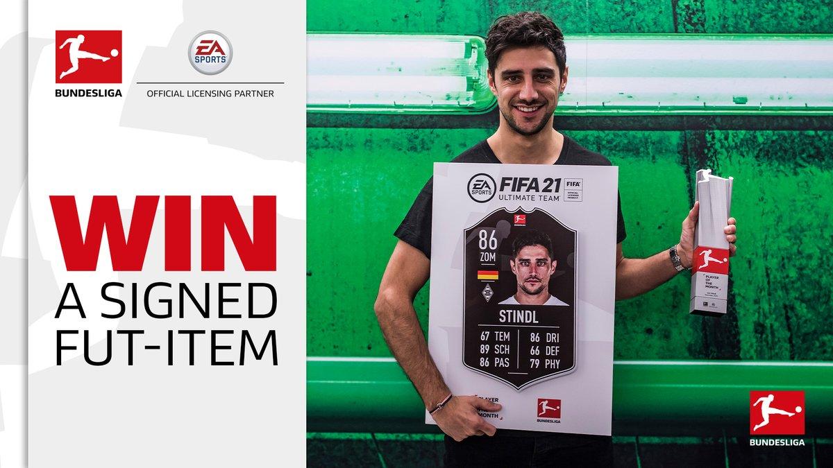 ❗ Don't forget to enter the #BundesligaPOTM sweepstake 🗳️  👉   @EASPORTSFIFA #FIFA21