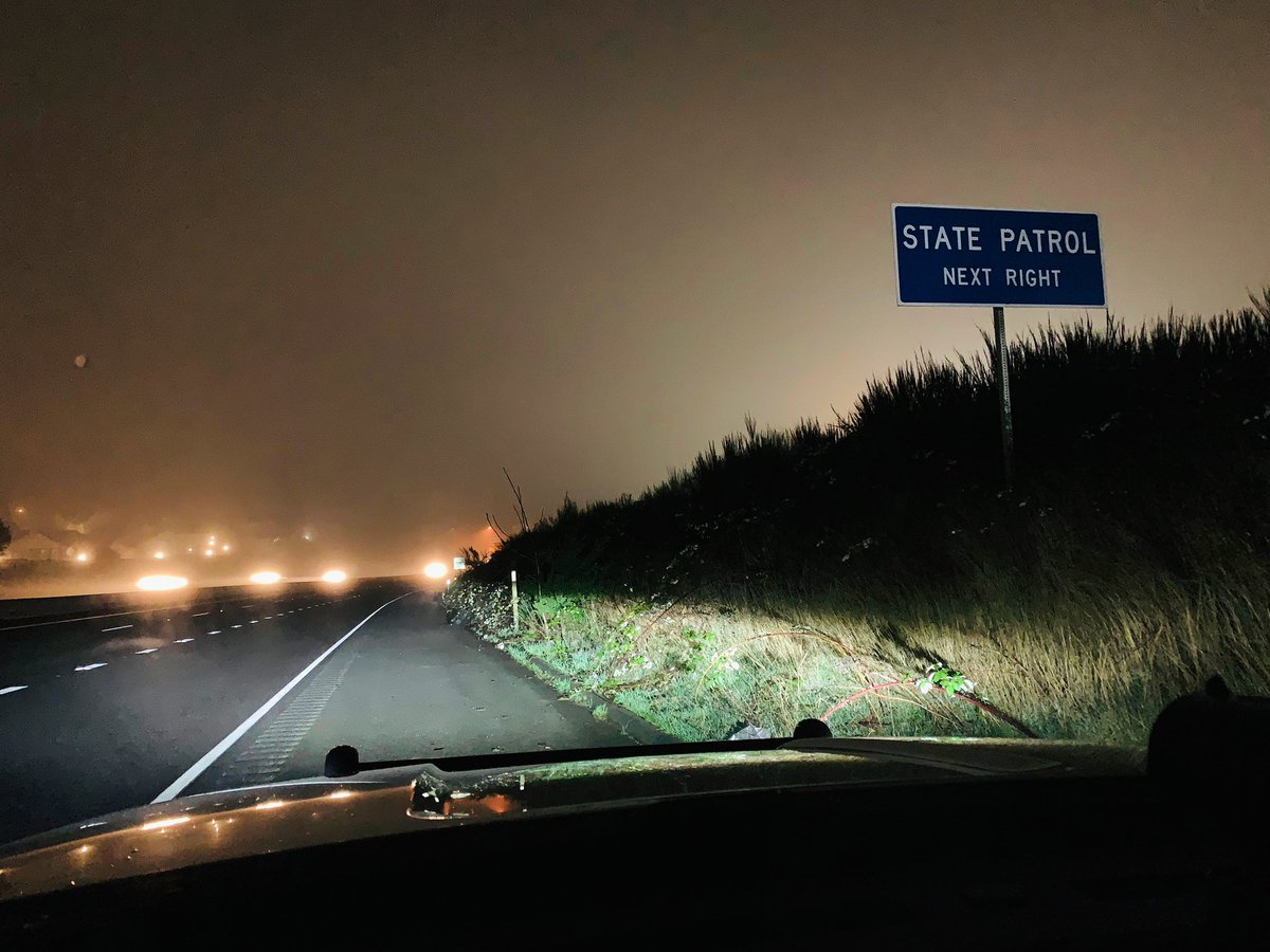 It's a foggy #SaturdayMorning in areas.   If you find yourself behind the wheel 🚘 be sure to #StayAlert & #StayFocused on the drive.   Let's start the weekend off right by choosing to #DriveSafe.   #YourWSP🚔