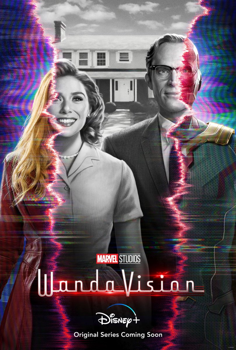 Good morning!! It's finally here & we are all over it! #WandaVision is out now on #DisneyPlus and we will be joined by @VerbalDiorama & @Dan2Di2 to examine the craziness! Stay tuned 👀📱