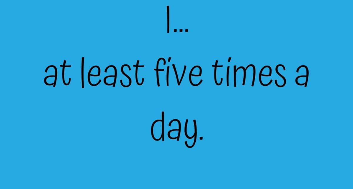 I'll start.... I lose my glasses at least five times a day!  #SaturdayMorning #MotherOfMoodStars ⭐⭐⭐