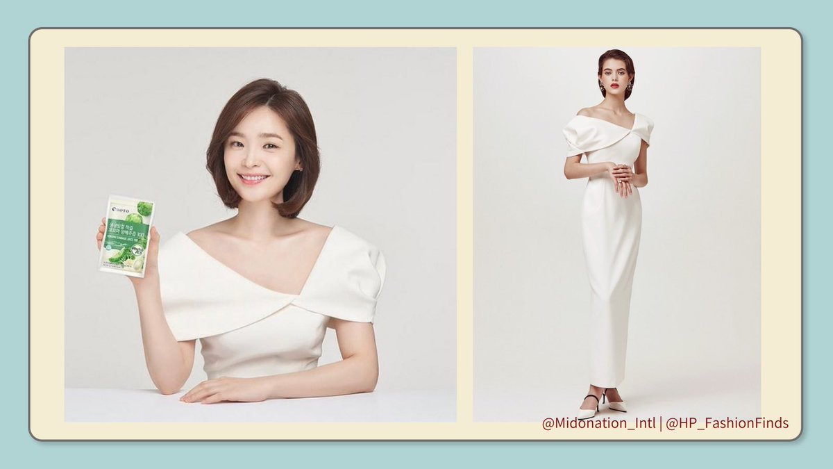 🪡 Jeon Mido Fashion Finds BOTO Super Foods Promotional Photos Dress from LAMERCOCO 🔗 lamercoco.com/m/woman01.php?… #JeonMido #전미도 #ForJeonMido #FashionFinds