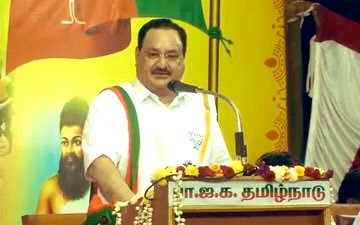It is BJP where scientific development is taking place and thus, people from different walks of life are joining us. We invite everybody and we've to make sure that we as a mainstream party keep walking ahead in the state. - Shri JPNadda  #WelcomeNaddaJi