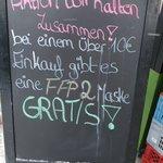 Image for the Tweet beginning: Innovatives Geschäftsmodell auf dem Viktualienmarkt