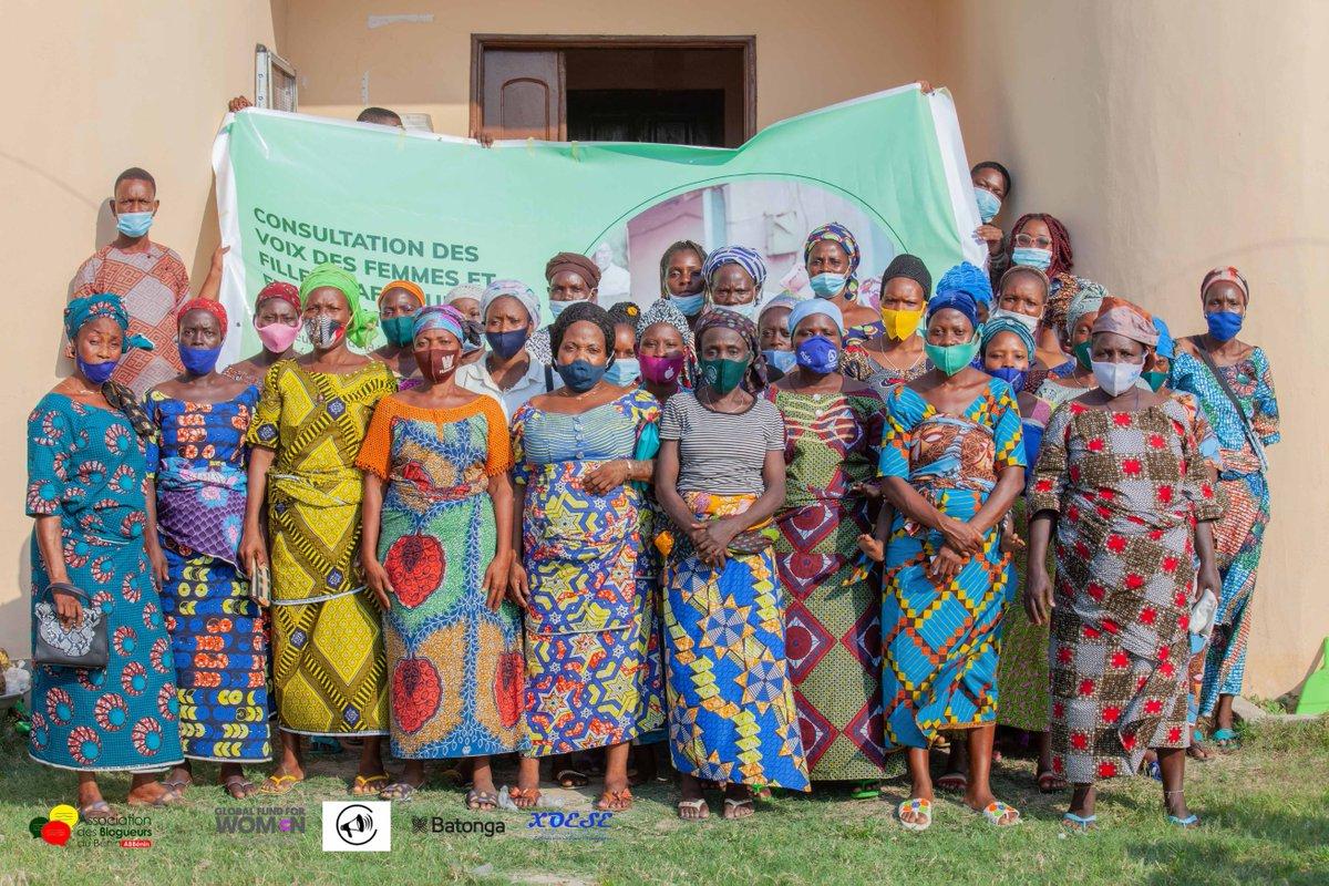 Ces femmes se sont confiées librement à nous pour que leurs voix soient plus représentées au @GenEgaliteFR à travers le plaidoyer de @angeliquekidjo devant les dirigeants du monde. Cette initiative est rendue possible grâce à l'appui de la @BatongaFdn à travers le @fxoese.