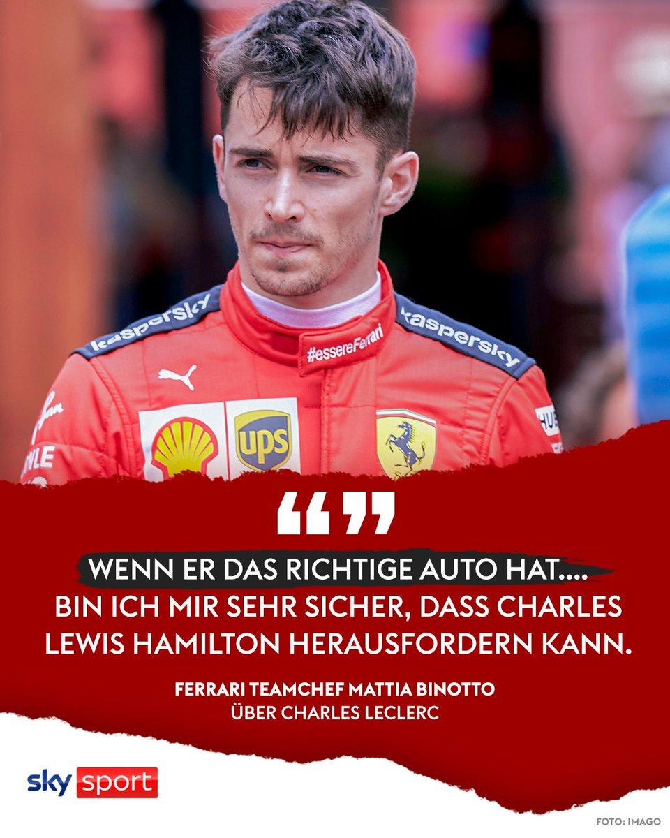 Was meint ihr, hat Charles Leclerc das Zeug dazu, zukünftiger Formel-1-Weltmeister zu werden? #skyf1 #f1 #ferrari
