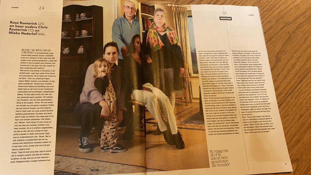 Rose vertelt haar verhaal in #VK #Magazine #geeftstoftotnadenken #hetisnooitsaaiinhuizenederlof