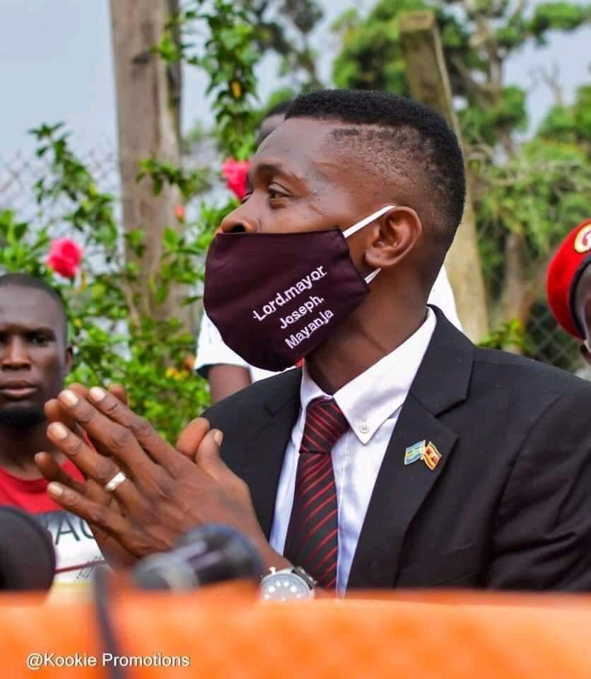 The new Kampala Member of Parliament is Joseph Mayanja alias Chameleon of #BobiWine 's  NUP  Congrats .@JChameleone for your  newly founded post in the government of #Uganda   #UgandaDecides
