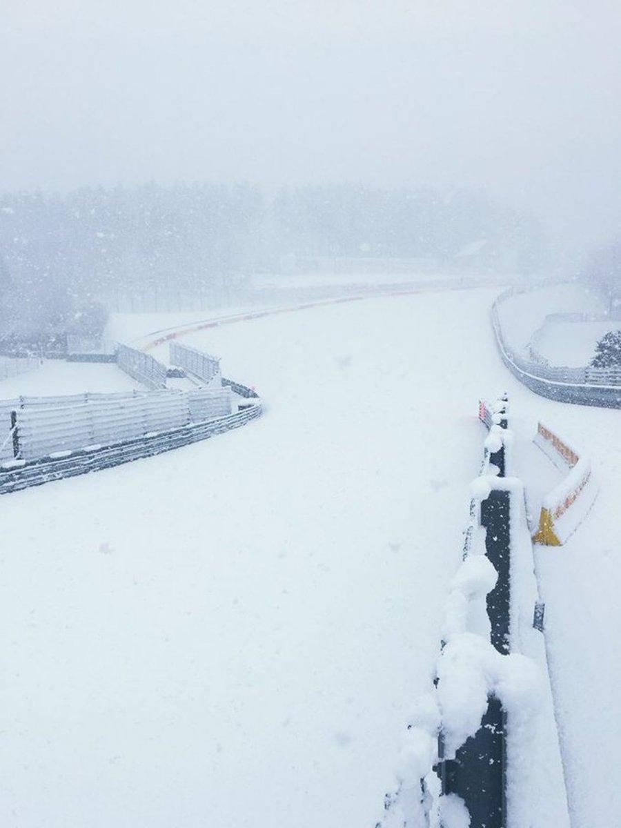 Snow Rouge - #F1 #BelgiumGP
