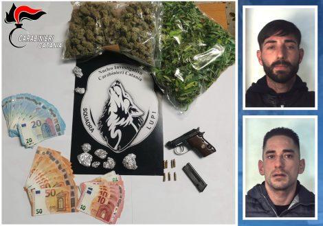 """Armi e droga, i """"Lupi"""" arrestano due uomini nel Catanese - https://t.co/U5eFRyACxt #blogsicilianotizie"""