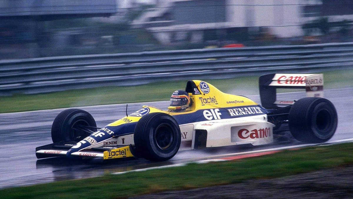 Thierry Boutsen, Williams-Renault, Canadian GP, 1989. #F1