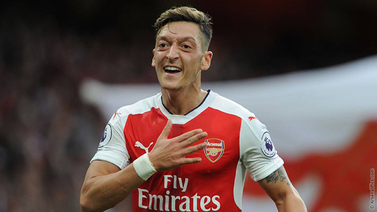 For choosing us when you could have gone anywhere. For the debut against Sunderland. For the FA Cup triumphs. For the injury time assist against Leicester. For the goals. For the assists. For the unforgettable moments. For extending when we needed you.  Thank you, @MesutOzil1088.
