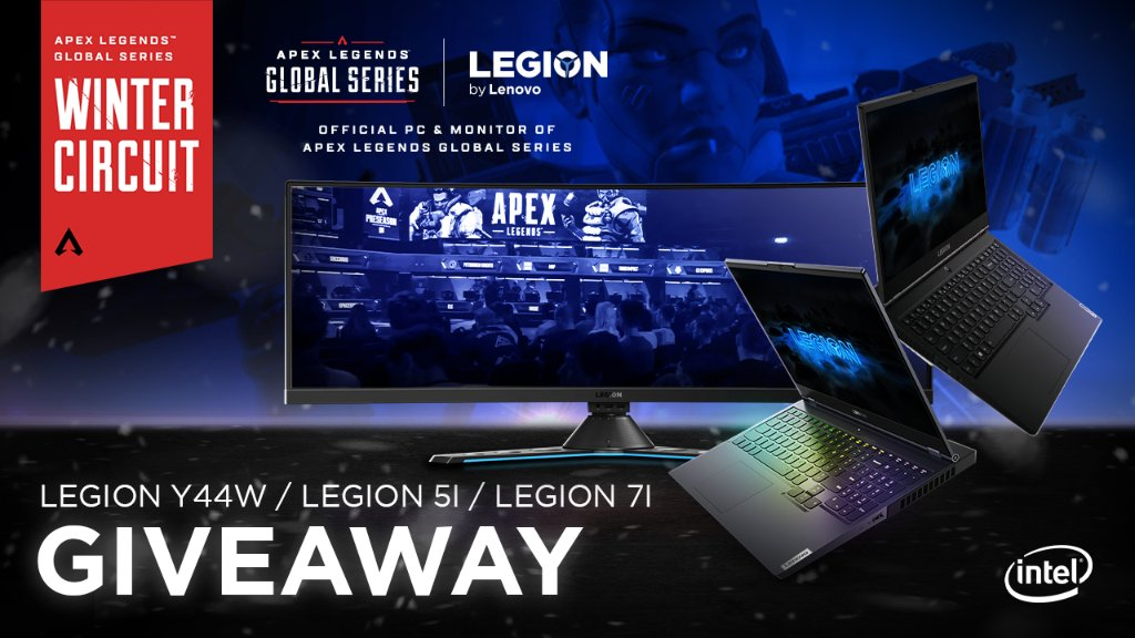 A care package you don't want to miss. 😏  To celebrate the ALGS Winter Circuit with @playapex, we are giving away some Legion laptops and monitors. Will you be one of the lucky winners? Only one way to find out.  Enter here: