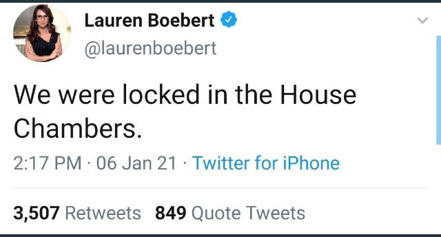 @RepBoebert Inside Job Warning Your Terrorist Friends That Stormed The Capitol Building? @FBI Should Be Arresting You @laurenboebert But You Already Know All About Getting Arrested Don't Ya?! 🙄👮#ResignLaurenBoebert #RepLaurenBoebert  #ArrestLaurenBoebert #CapitolBuilding #FBI