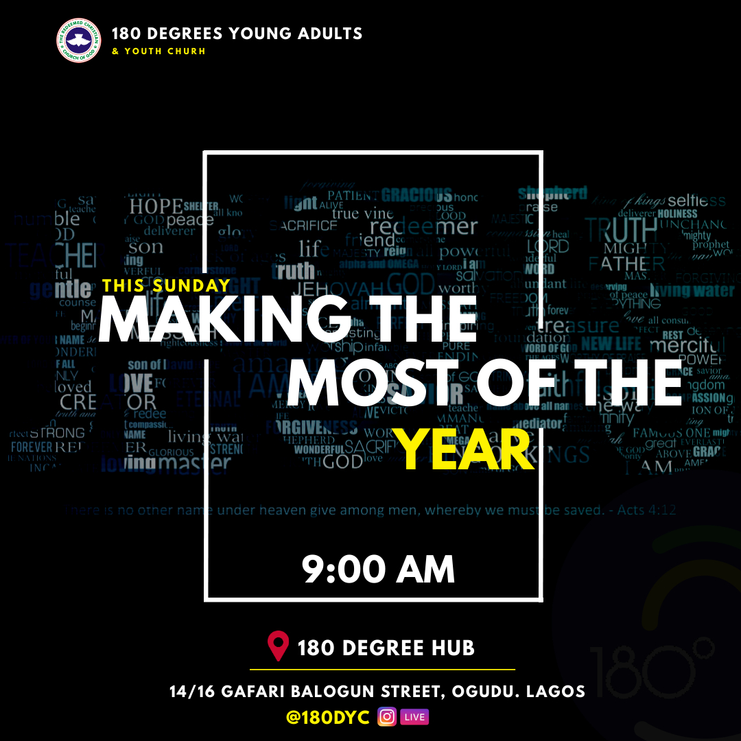 When you can discern what God is saying from what you're thinking, then you're going to get what God has for you. Get ready for a time of refreshment as we delve into God's Infallible Word to prepare ourselves for the new year ahead.  #newyear #direction #weekend