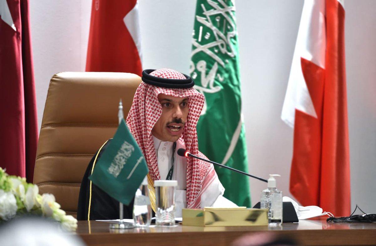 الأمير #فيصل_بن_فرحان وزير #الخارجية #السعودية  يتوقع إعادة فتح سفارتي #قطر و #المملكة في كل من البلدين خلال أيام