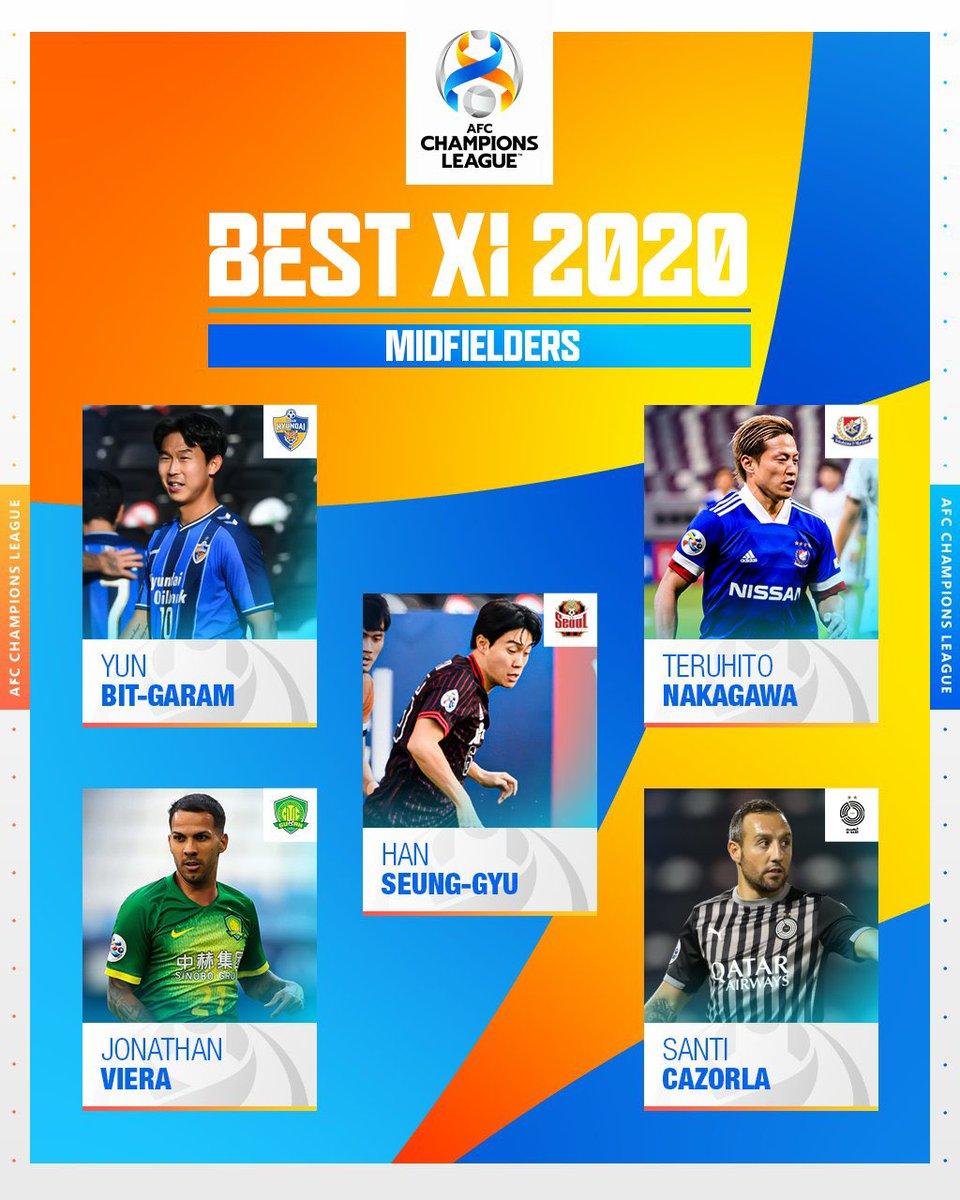 أكرم عفيف وكازورلا وبشار رسن وانييستا يدخلون التصويت لأفضل لاعب وسط في #دوري_أبطال_آسيا 2020 #الديربي